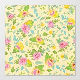 Floral Escape 1 Canvas Print