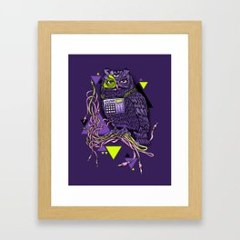 DiscOwl 6c Framed Art Print