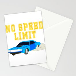 Made specially for limitless car drivers out there! Makes a nice gift too!  Stationery Cards