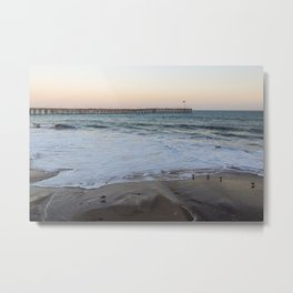 Ventura Pier Sunrise Metal Print