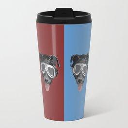 Goggles McGee - Dog With Goggles Travel Mug