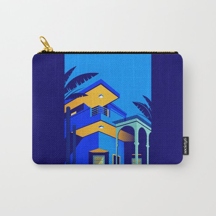 Jardin Majorelle Carry-All Pouch
