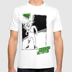 Yuck! White 2X-LARGE Mens Fitted Tee