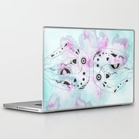 gemini Laptop & iPad Skins featuring GEMINI by NoMoreWinters