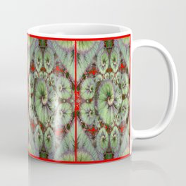 Escargot Begonias Abstract Coffee Mug