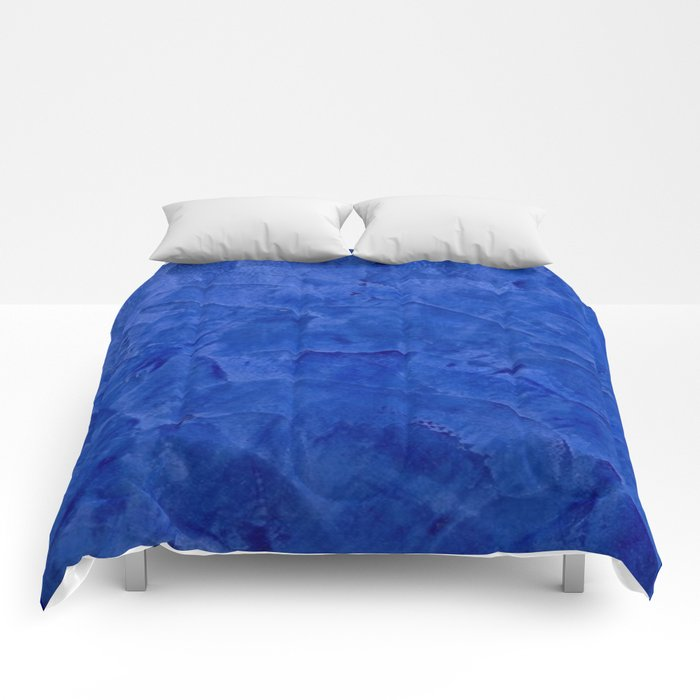 Pretty Blue Cases - Ombre - Stucco - Pillow - iPhone - Shower Curtains Comforters
