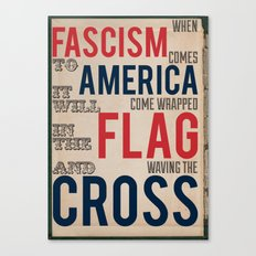 Fascism Canvas Print