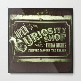 Night Curiosity Metal Print