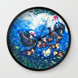 MUSCOVY FAMILY Wall Clock