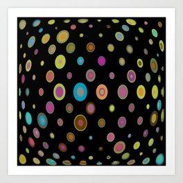 geometric universe Art Print