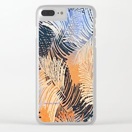 Palm Leaves By Annie Zeno Clear iPhone Case