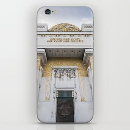 Secession building in Vienna Austria art nouveau iPhone Skin