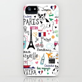 J'Adore France iPhone Case