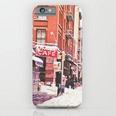 New York City Snow in Soho iPhone 6s Slim Case