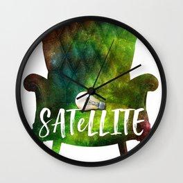 Satellite Wall Clock