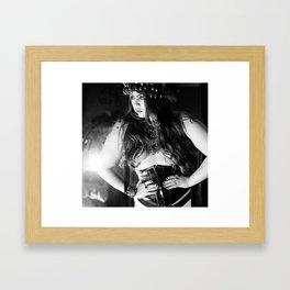 Dominique Framed Art Print