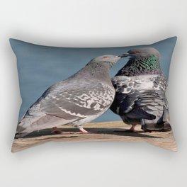 Kissing or Feeding Rectangular Pillow