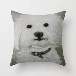 Coton de Tuléar Throw Pillow