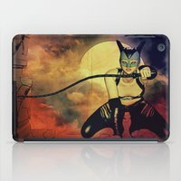 catwoman iPad Cases featuring catwoman by Ancello