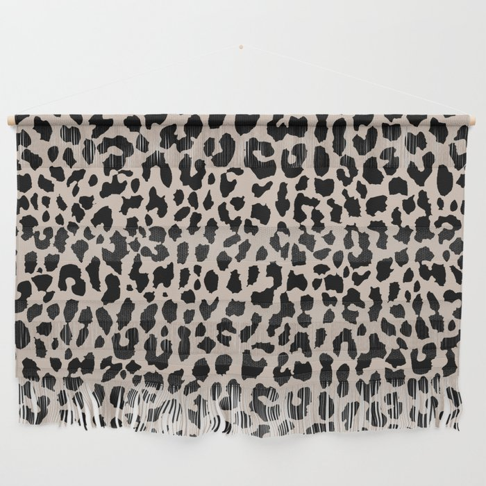 Tan Leopard Wall Hanging