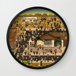 Super Breaking Bad Wall Clock