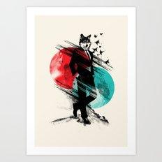 Wolfman Art Print