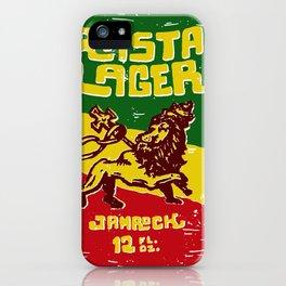 Rasta Lager iPhone Case