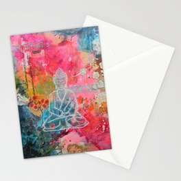 Buddha iphone case Stationery Cards