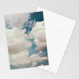 January Clouds Stationery Cards