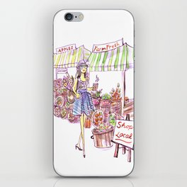 Farmer's Market iPhone Skin