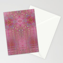 Rippling Pink Stationery Cards