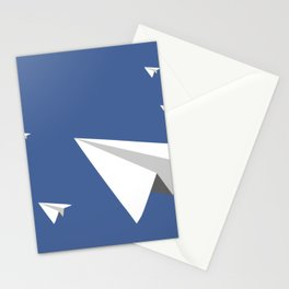 Paper Plane Fleet Stationery Cards