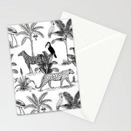 botanical jungle Stationery Cards