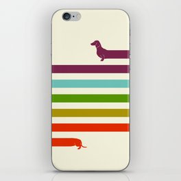 (Very) Long Dachshund iPhone Skin