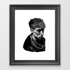 Quiet Man Framed Art Print