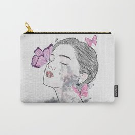 A touch of butterflies. Carry-All Pouch