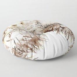 Hedgehog Cuddles Floor Pillow