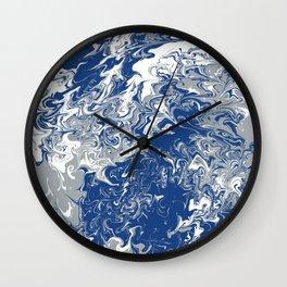 Seton Hall Tie Dye Wall Clock