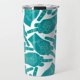 Nicole Archer Middle Finger Bag Travel Mug
