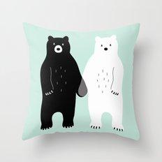 Gray Throw Pillow