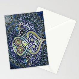 Inner Light / Psychedelic Owl Stationery Cards