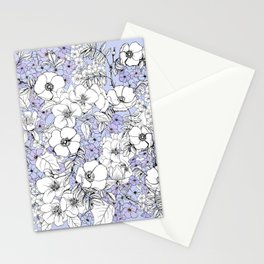 Hydrangea and rosehip Stationery Cards