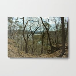 Effigy Mounds Metal Print