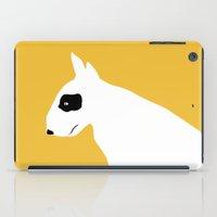 bull terrier iPad Cases featuring - BULL - by TWELVE TWELVE