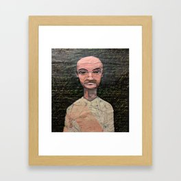 Middle Age Framed Art Print