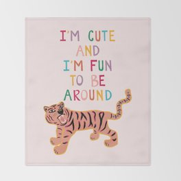Cute & Fun Throw Blanket
