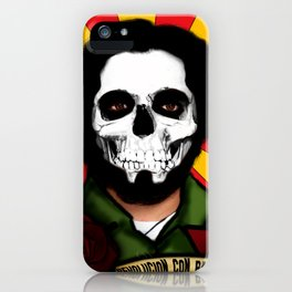 Calavera & Revolucion  iPhone Case