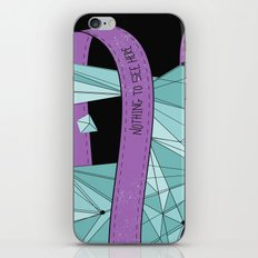 Nothing To See Here (B). iPhone & iPod Skin