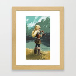 Little wings Framed Art Print