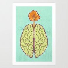 Brainee Art Print